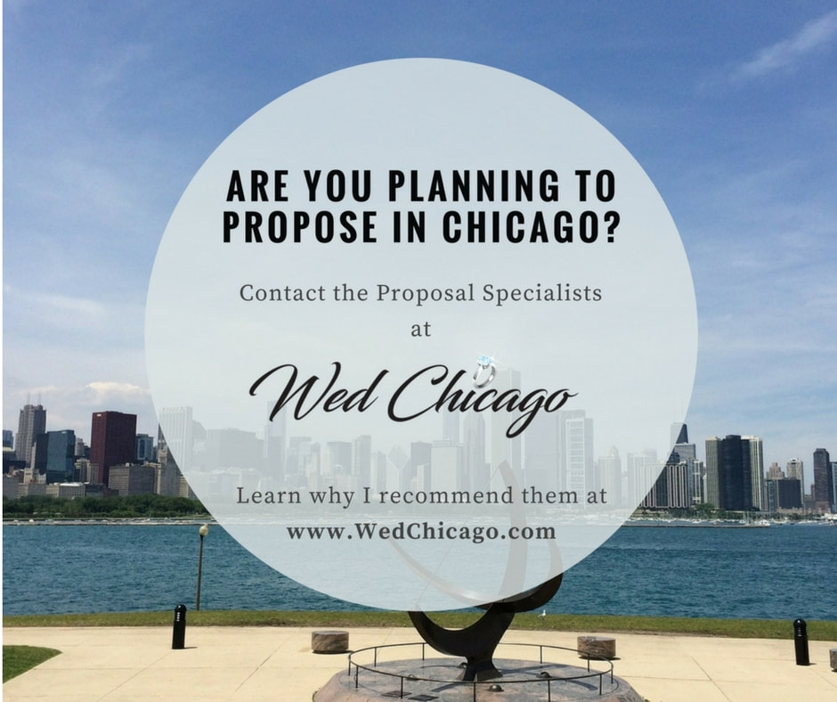 Marriage Proposal Planning in Chicago Facebook Post